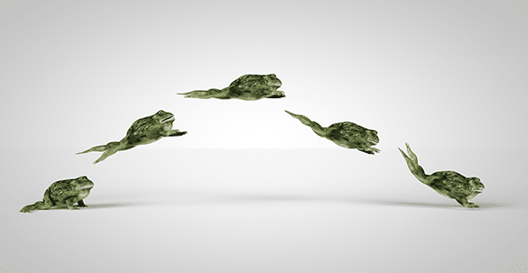 Leaping Frogs Edit