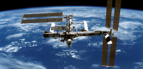 International Space Station Cropped