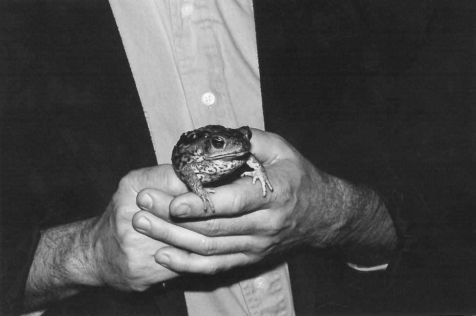 Image: Man Holding Frog